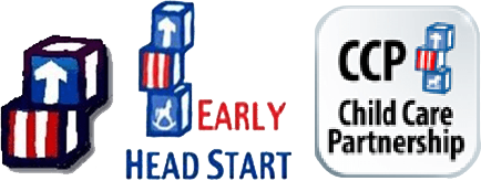 Head Start, Early Head Start, Child Care Partnership Logos